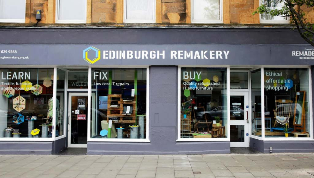edinburgh reparatur Laden