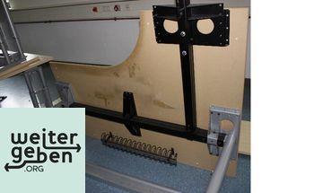 dunkelbraune ecktischkombination kabelkanal 2 a090. Black Bedroom Furniture Sets. Home Design Ideas
