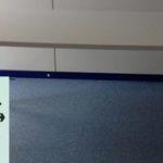10 Besprechungstische werden gespendet in Stuttgart Graue Platte, silberne Füße 1 x 160x80cm 5 x 120x80cm