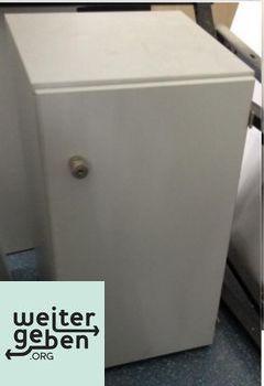 Stuttgart: Lichtgrauer Büroschrank 1 x 40x42x74 cm (BTH) Schlüssel vorhanden