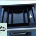 Spende Lichtgraue Rollcontainer 1 x 43x78x59 cm (BTH) Schlüssel vorhanden 1 x mit 4 Schubladen 1 x mit 2 Schubladen und Hängeregister