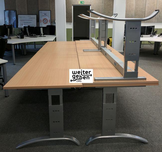 6 erstkassige, Büroschreibtische werden in Berlin gespendet - A108