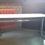 gespendet werden in Mannheim ca. 20 sehr stabile gebrauchte Tische. Ursprünglich als Schultische eingesetzt.