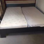 zu verschenken ein Doppelbett in Bodenheim