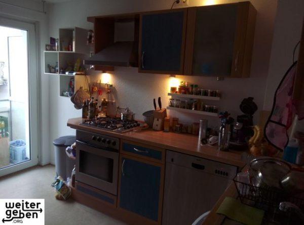 funktionsfähige Küche inkl. aller Küchengeräte wird gespendet