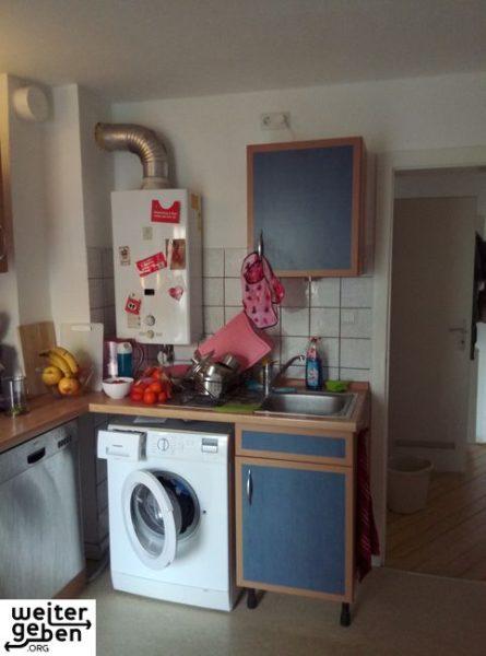 Waschmaschine in Münster wird gespendet