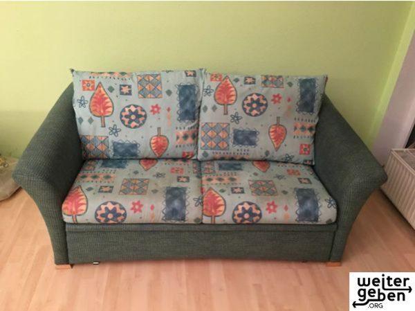 gespendet wird ein Sofa + Sessel