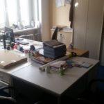 Schränke, Bürotische, Bürostühle, etc. zu verschenken