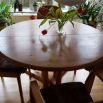 Schöner Holztisch in Hamburg zu verschenken Maße: 1,20 x 1,20