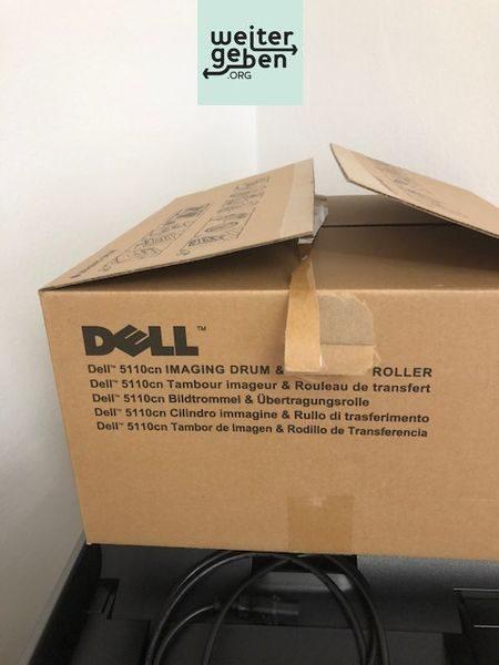 Bildtrommel mit gebrauchem Dell-5110cn Farblaserdrucker wird an gemeinnützigen Verein o. Einrichtung gespendet