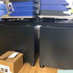 stabile Bürotische inkl. Bürocontainer werden gespendet - Nähe Tuttlingen, Albstadt, Balingen