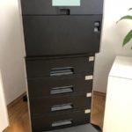 in München wird ein Farblaserdrucker mit viel Zubehör einer gemeinnützigen Einrichtung gespendet