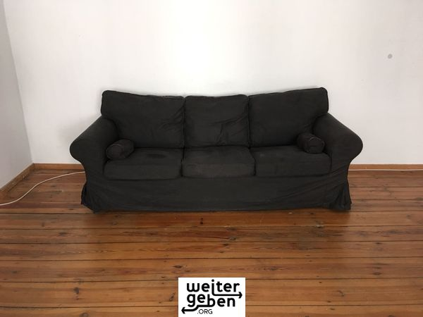 spende schwarzes sofa in berlin. Black Bedroom Furniture Sets. Home Design Ideas