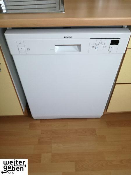 diese Spülmaschine wird in Berlin gespendet