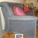 zusätzlich werden zwei Sessel gespendet