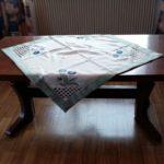 gebrauchter höhenverstellbarer Tisch wird in Weilburg gespendet