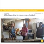 Umzug des Möbellagers in Wermelskirchen