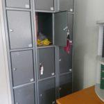 Metalspind für Unterlagen in Hirschberg Baden-Württemberg wird gespendet