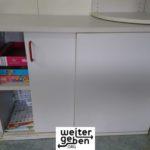 Spende: Schrank mit Schiebetüren, nicht abschließbar, passend zu den vorigen, 100 breit, 72,5 hoch und 40 tief in Hirschberg BW