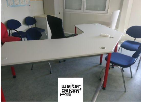 gespendet werden verschiedene Bürostühlen in Hirschberg bei Heidelberg