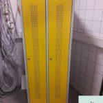 Sachspende: Metallspind BxHxT 60x178x50cm mit zwei Türen inkl. Schlüssel in Teltow