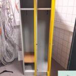Metallspind kostenlos BxHxT 60x178x50cm mit zwei Türen inkl. Schlüssel in Teltow