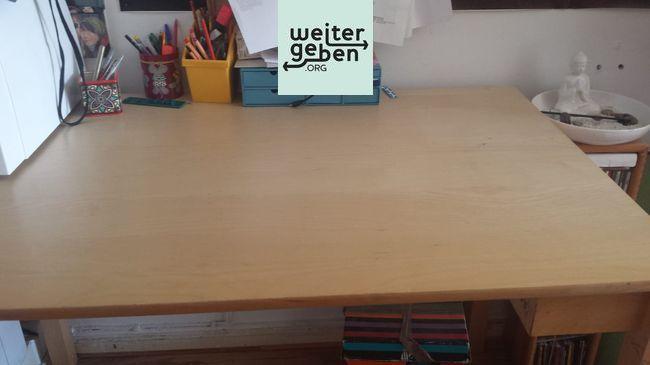 Spende: Holztisch Berlin Maße 120x75