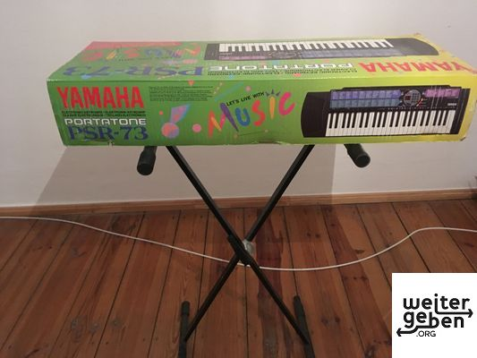Spende: Yamaha-Keyboard in Hamburg