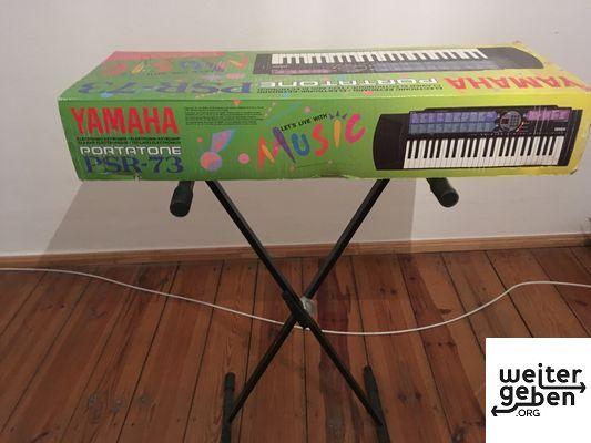 Spende: Yamaha-Keyboard in Hamburg