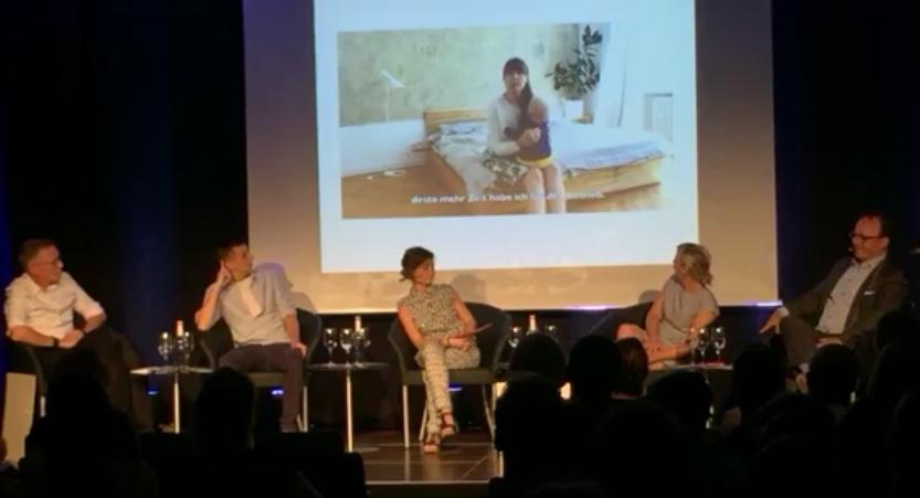 Social Business Meetup Podiumsdiskussion in München mit drei Sozialunternehmen