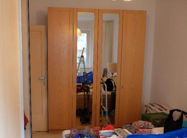 Wohnungsauflösung Berlin - Schlafzimmerschrank