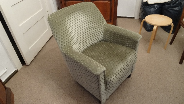 Grüner Sessel, gebraucht, 2 Stück in Zehlendorf