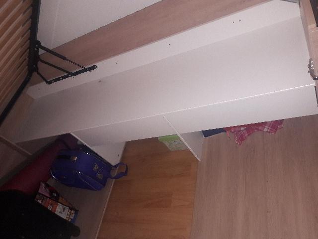 Bett inkl Kleiderschrank