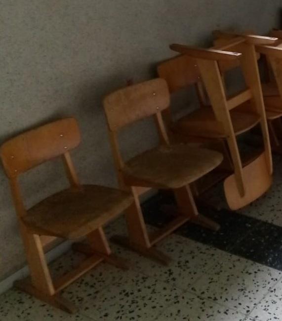 Schulstühle in Stadthagen