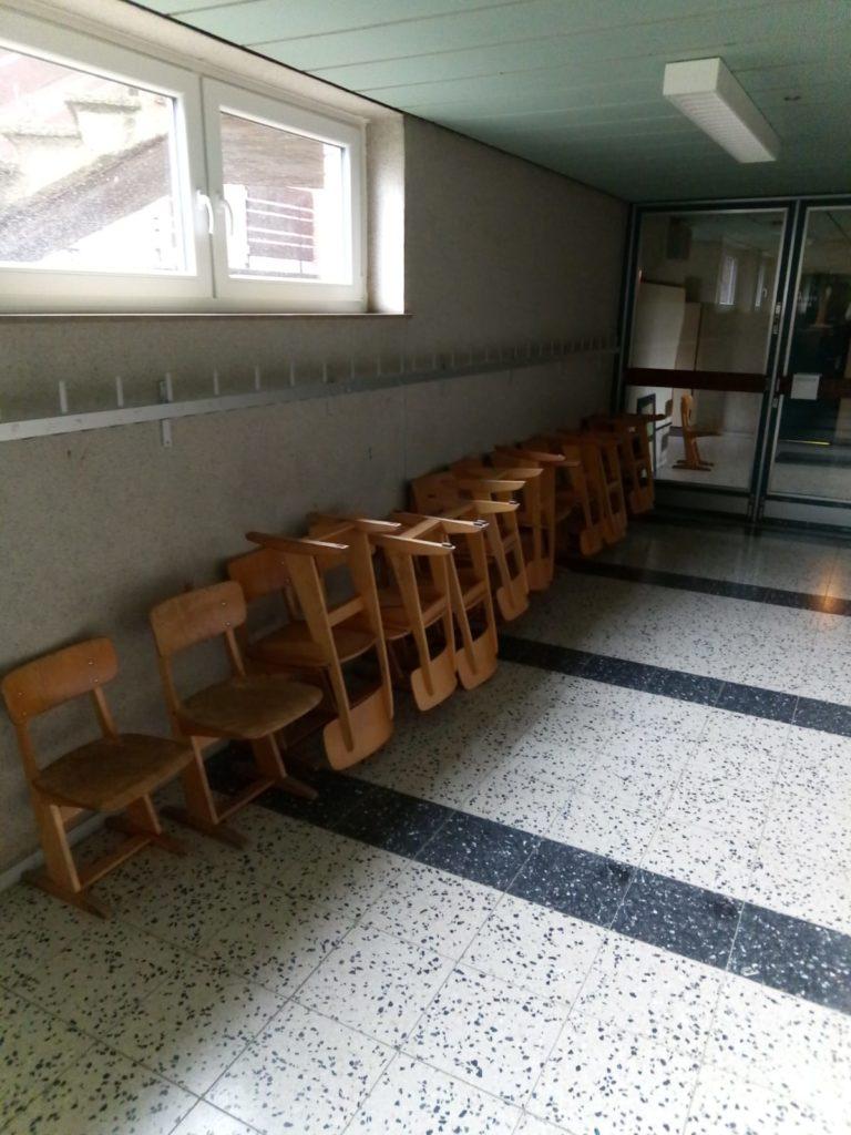gespendet werden viele Kinderstühle in Stadthagen