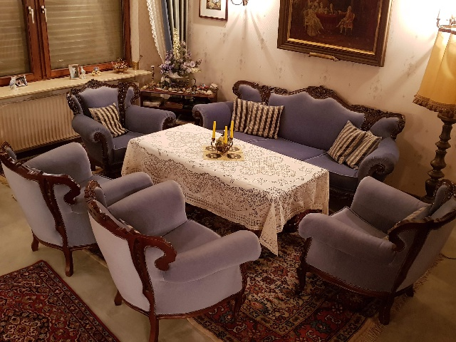 Spende#: 4x Sessel + Sofa + Tisch