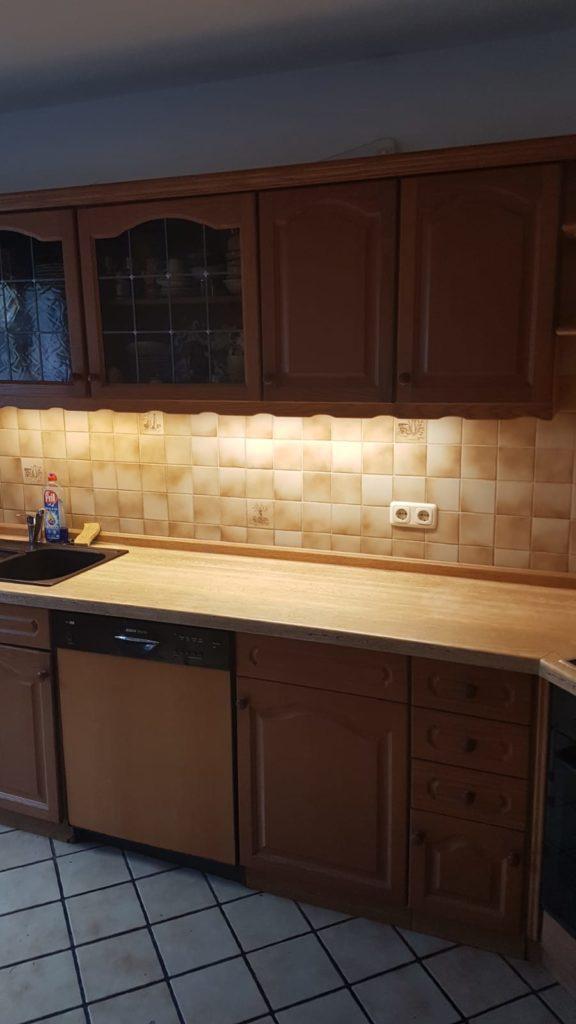 Küche inkl Ceranfeld wird gespendet