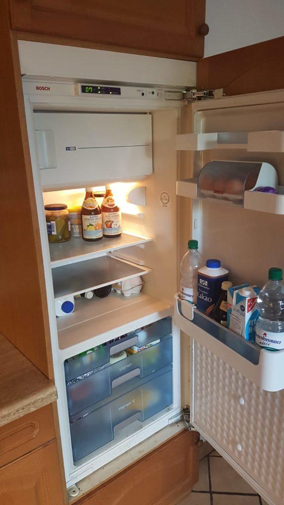 Küche inkl Kühlschrank wird gespendet