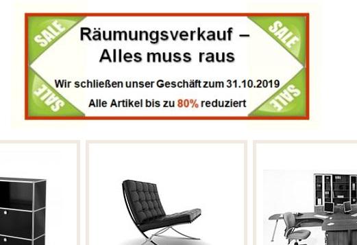 Großer Gebraucht Büromöbelhändler Schließt In München Weitergebenorg