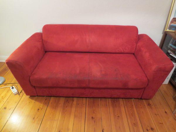 Sofa wird verschenkt