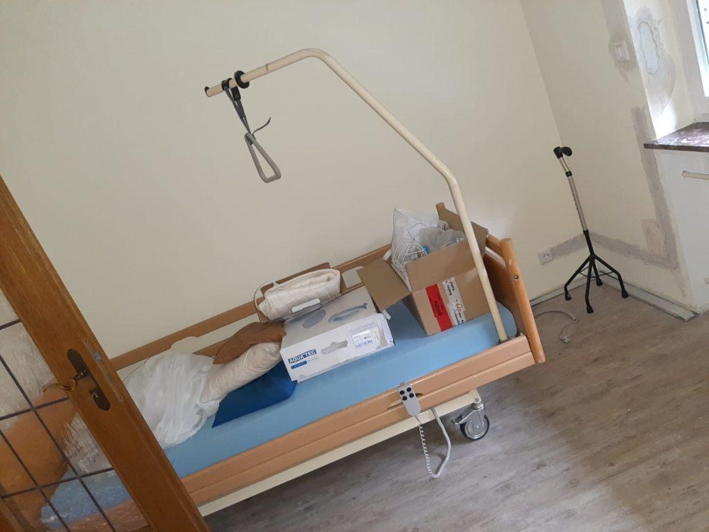 elektrisches Pflegebett nähe Münster wird gespendet