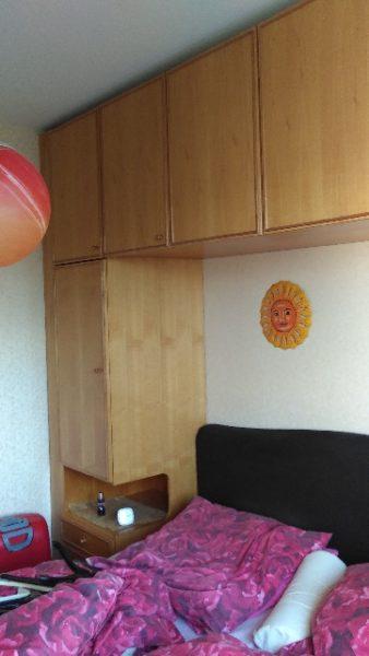 Spende: Schlafzimmer-Schrankwand 250cm hoch