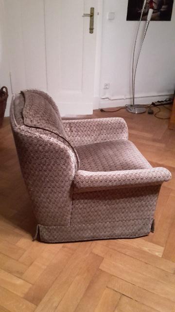 Spende: Steglitz-Zehlendorf 2x gemütliche große Sessel