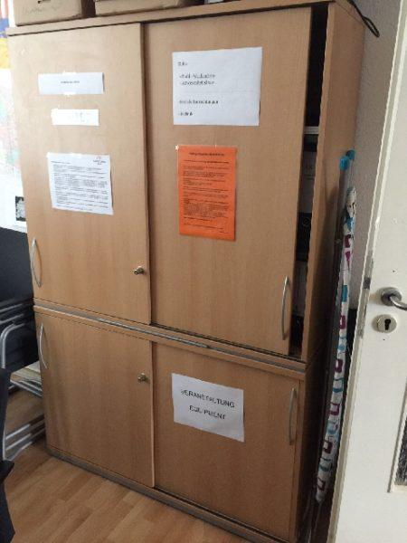 Spende: halbhohe Büroschränke in Berlin