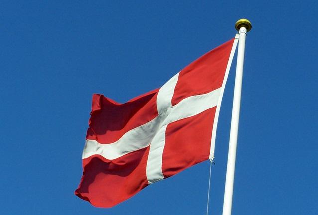 Dänische Flagge Foto: Hans van der Boom