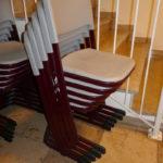 gespendet werden 6x stapelbare Schülerstühle in Kaufbeuren
