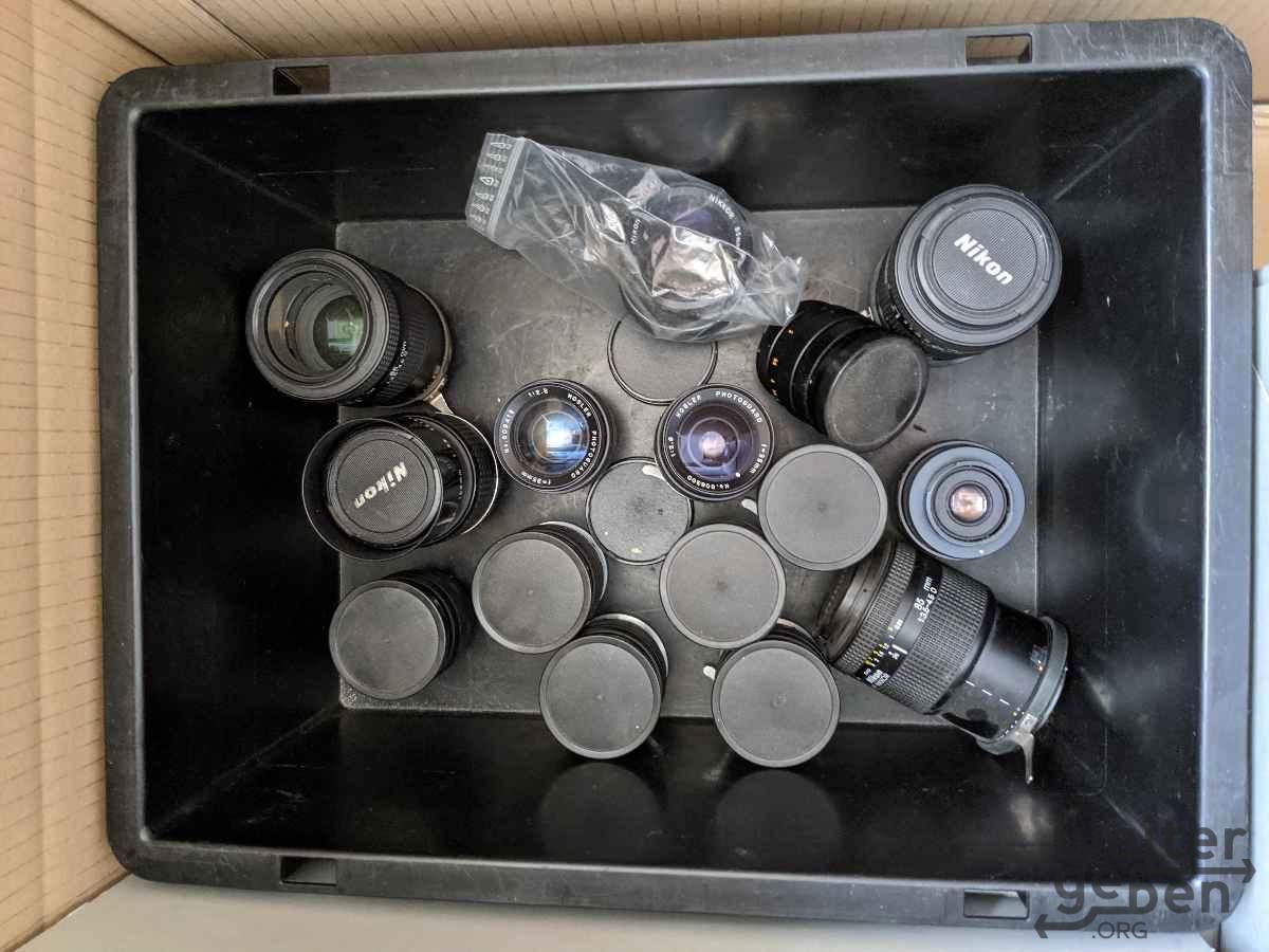Nikkor Nikon Foto Objektive Spende Nähe Düsseldorf