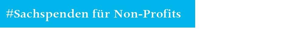 Sachspenden und Preisnachlässe für Gemeinnützige Vereine und Organisationen