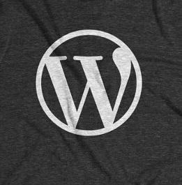 zu sehen: das Wordpress Logo