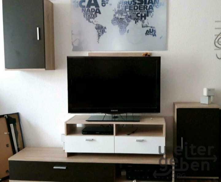Fernsehmöbel + moderne Wohnwand